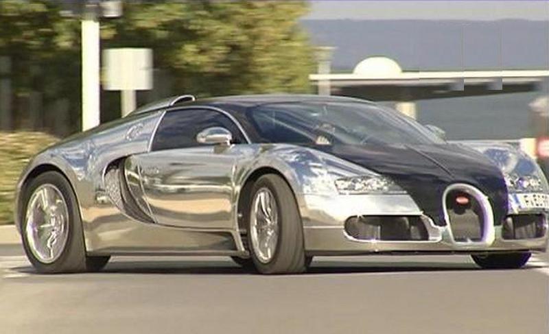 Karim Benzema dans sa Bugatti  Veyron - Kalaranet