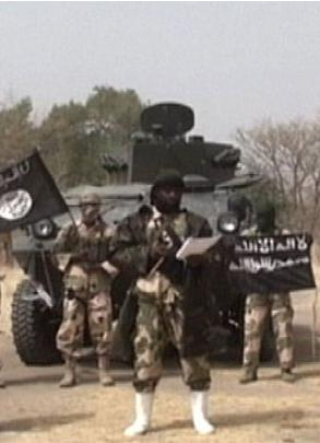 <em>Boko Haram est dans Maiduguri au Nigéria</em>
