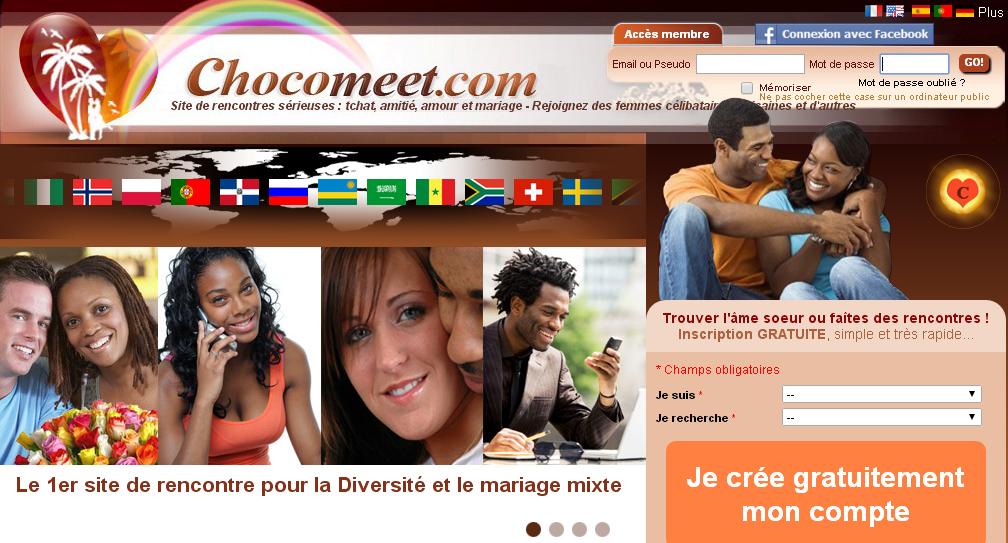 site de rencontre chocomeet
