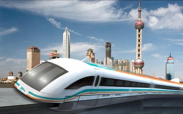 3-Train aérodynamique de Shangaï (1)