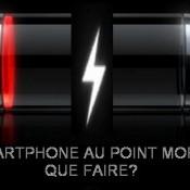 Batterie faible,un problème répandu du smartphone