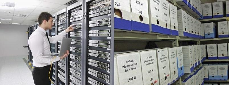 Archivage virtuel et archivage physique
