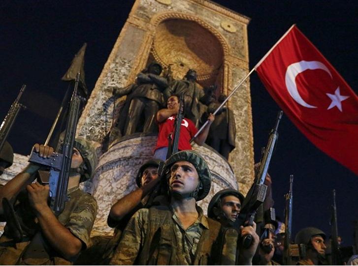 Coup d'état raté en Turquie  - juillet 2016 - Kalaranet.com