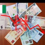Le Naira chute de 30% par rapport au dollar
