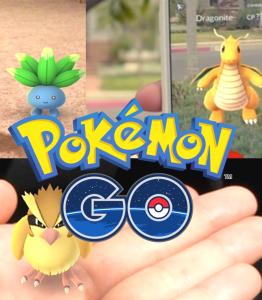 Réalitée augmentée Pokemon Go