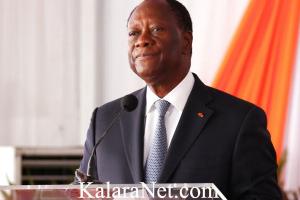 Alassane Ouattara lors d'un discours  – KalaraNet.com – Août 2016