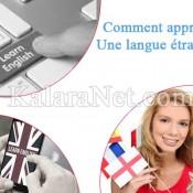 L'apprentissage d'une langue étrangère exige de la volonté