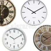 Des horloges modernes