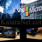 Microsoft vs Apple: une guerre entre deux geants
