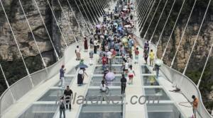 La Chine abrite désormais le pont en verre le plus long du monde