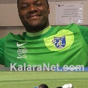 Le gardien de but congolaisDestin Onka Malonga