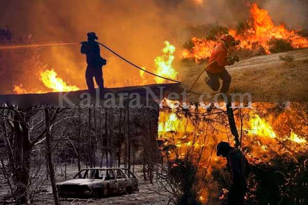 Des incendies au Portugal ravagent des villes