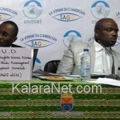 Des intervenant de la Communauté urbaine de Douala au Sago 2016