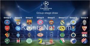 La Champions League 2016/2017 débute le 13 septembre