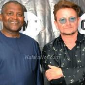 Aliko Dangote et Bono soutiennent les victimes de Boko Haram