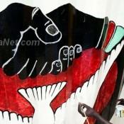 Une fresque des artistes sud soudanais