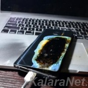 Galaxy Note 7 qui a explosé