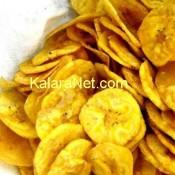 Chips de plantain à grignoter
