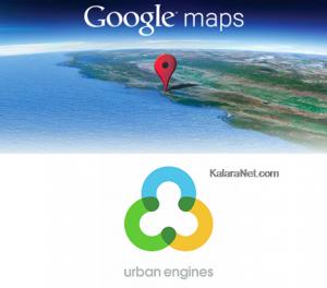 Google Maps, service de cartographie s'améliores avec l'achat de Urban Engines