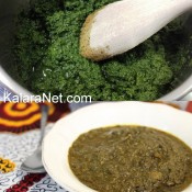 Le Kpem : nu plat de légumes