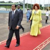 Paul et Chantal Biya à l'aéroport de Yaoundé- Nsimalen en route pour l'ONU