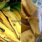 Du plantain pilé ou Ntouba Ekon