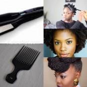 Les femmes noires et métisses ont les cheveux crépus