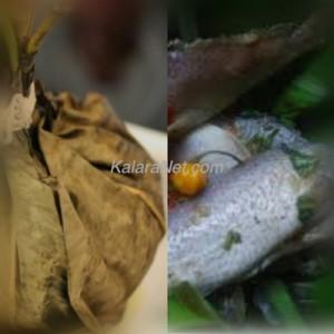 <em>Le ndomba de poisson, très épicé</em>