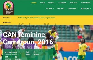 La CAN féminine 2016 a un site web pour les fans