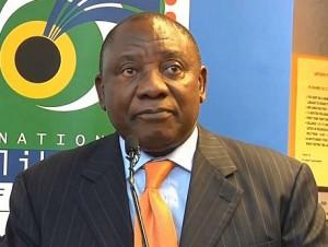 Cyril Ramaphosa représentera l'ANC aux élections générales en 2019