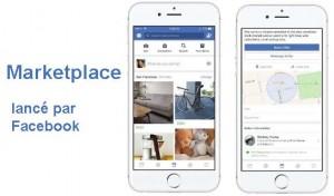 Marketplace est une plateforme pour la vente et l'achat entre utilisateurs sur Facebook