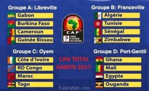 Le Cameroun est dans un bon groupe pur la CAN 2017 qui se tiendra au Gabon