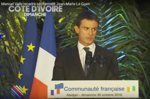 Manuel Valls humulie publiquement Jean-Marie Le Guen
