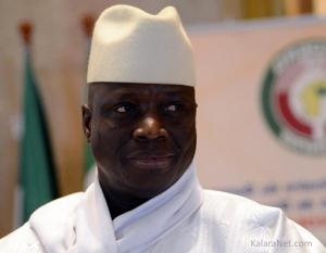 Yahya Jammehrefuse de céder son fauteuil de président de la Gambie