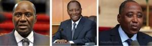 Alassane Dramane Ouattara, Daniel Kablan Duncan et Amadou Gon Coulibaly sont collaborateurs depuis des décennies