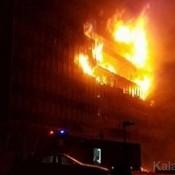 L'incendie à l' Asseblée nationale du Camerou s'est déclaré vers 21h
