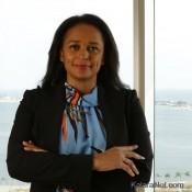 Isabel Dos Santos est la fille de l'ancien président de l'Angola
