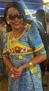 Mme Kamto née Fantchom  est l'épouse de l'opposant Maurice Kamto