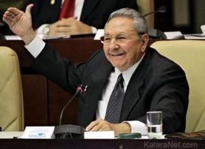 Raùl Castro est le président de Cuba