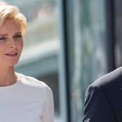 Charlène et Albert de Monaco