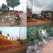 Des tas d'ordures dans les villes du Cameroun - © Kalaranet.com