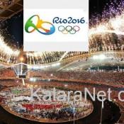 Ambiance survoltée au stade Maracana - Rio 2016