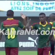 Les Lions indomptables battent la sélection gambienne 2-0
