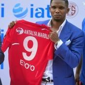 L' Antalyaspor a levé la sanction qui pesait sur Samuel Eto'o