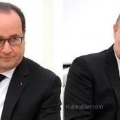 François Hollande envisage l'éventualité de traduire Poutine à la Haye