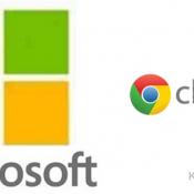 Microsoft et Google sont des firmes rivales