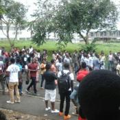 Grève des étudiants à l' Université de Buea