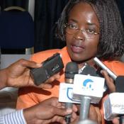 Minette Libom Li Likeng est la ministre des Postes et télécommunication au Cameroun